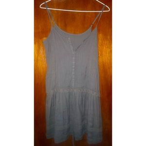 Bohemian drop waist dress